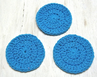 Cotton Facial Scrubbies, Bath & Beauty, Spa Accessories, Makeup Remover pads, London, Ontario, Canada, Gift for Her