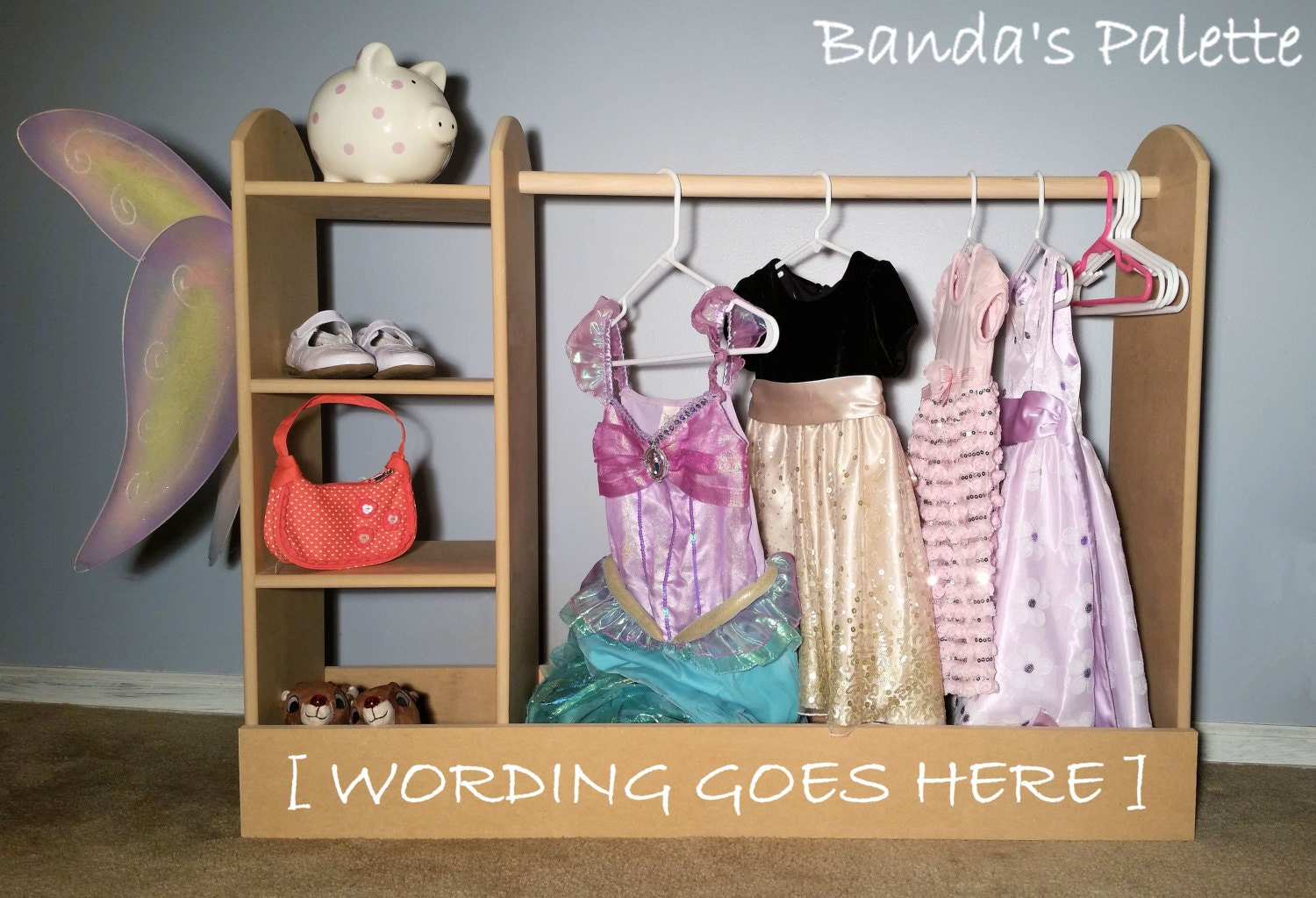 Dress Up Station As Seen On Pinterest Storage