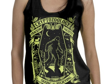 Cryptozoology - Glow in the Dark TANK (Ladies)