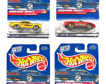 Hot Wheel Cars, Sugar Rush Series II Full Set, Race Cars, Toy Cars, Birthday Gifts, Gifts for Kids, Toys
