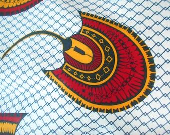 Wax fabric, African fabric, Ankara 90 cm x 116 cm