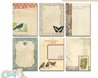 Ancienne Natural Digital Journaling Cards