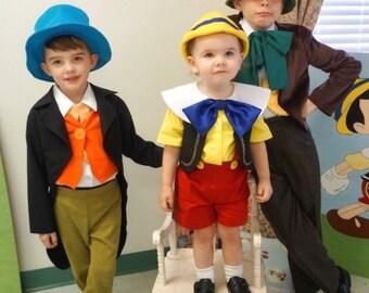 Jiminy Cricket Inspired Costume/Jiminy Cricket Toddler/Jiminy Cricket Kids/Children's Costume/Halloween Costume