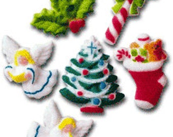 Custom Order Only! Sugar Xmas Decorations, A must have for a simple yet lovely display.      Simply Darling