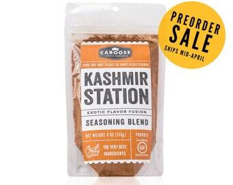 Preorder Sale: Kashmir Station Exotic Flavor Fusion Seasoning Blend - Large Pouch (4 oz)