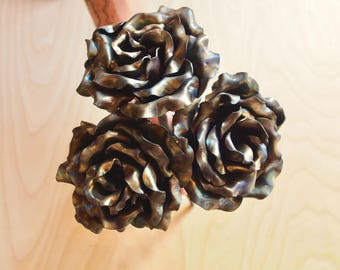 Handcrafted Steel Rose