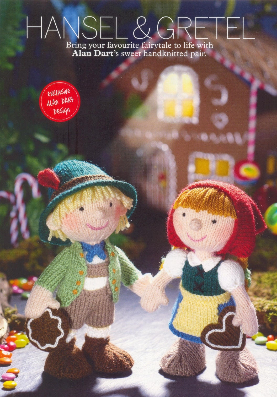 ALAN DART Knitting Pattern ~ Hansel and Gretel ~ Favourite fairytale ...