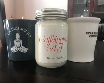 Caffeinated AF Candle