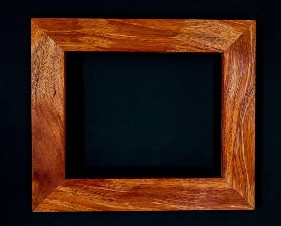 8x10 Handcrafted Exotic Hardwood Frames Photo Frames Art