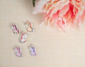 Needleminder / needle keeper / needle knack for cross stitch / embroidery / needlework / xstitch / unicorn