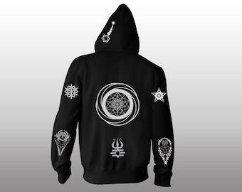 Hoody Jacket | light reflective print | make your own design