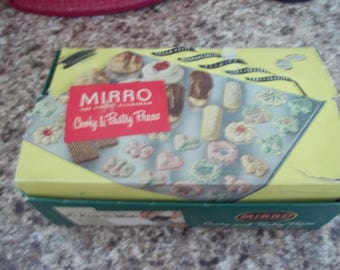 Mirro Aluminum Cooky and Pastry Press Complete in Box