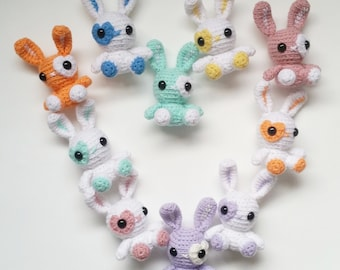 Mini Plush Bunny