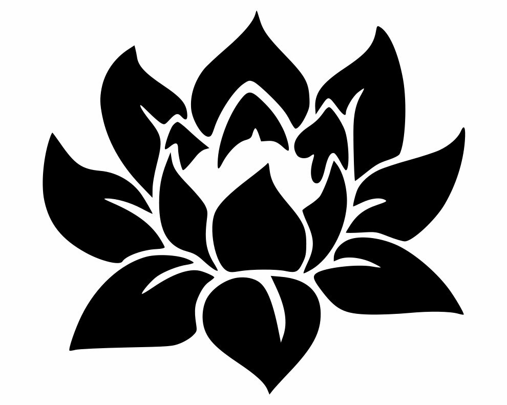 Lotus Blossom Vinyl Decal Yeti Cup Decals Cell Phone