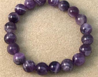 Auralite 23 Bracelet / Auralite 23 Beaded Bracelet / Stretch Bracelet / Bead Bracelet / Couples Bracelets / Auralite 23 Jewelry / Auralite23