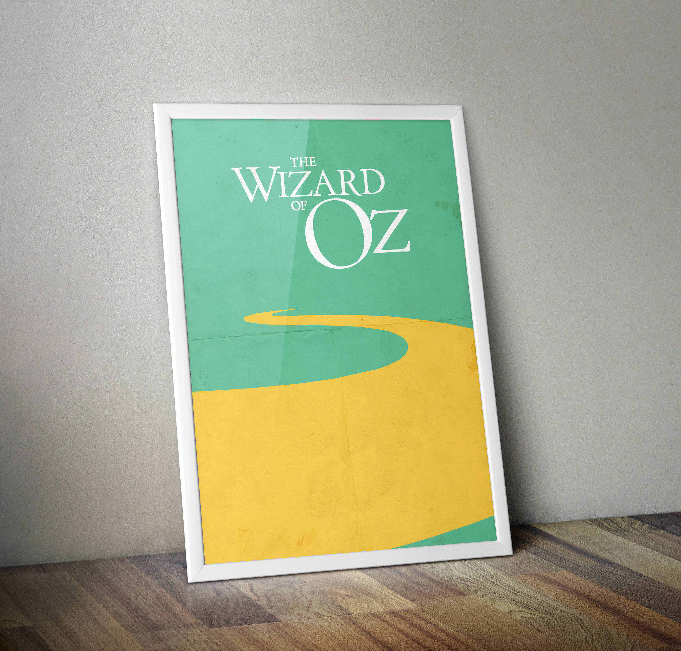 The Wizard of Oz Minimalist Print Wizard of Oz Poster Print