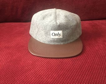 Only Ny Two Tone Wool Strapback