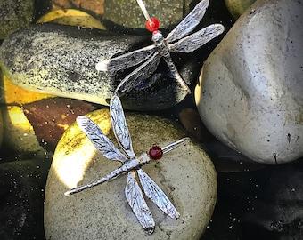 Earrings dragonflies. Silver Dragonflies earrings. Big dragonflies earrings. Big silver Dragonfly Earrings.
