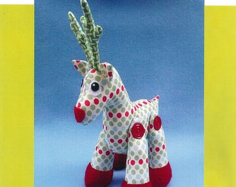 Rudy the Reindeer by Melly & Me - Paper Printed Pattern