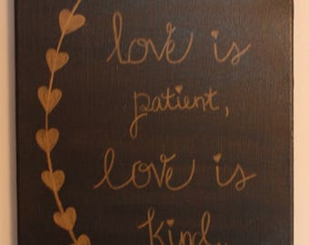 Love Is Kind Painting