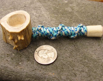 Handcrafted Antler pipe
