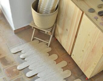Jute, Natural fibre rug, Entryway rug, Jute rug, Handmade rug, Area rug, Handcrafted rug, Carpet runner, , Rug Ovalette, Country house decor