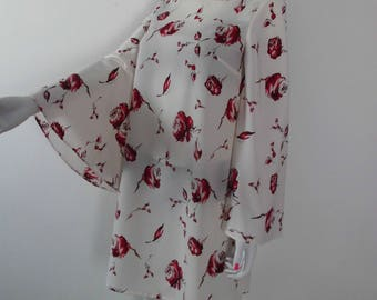 Printed 1970s dress