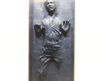 Ultra Thin Star Wars Han Solo Frozen In Carbonite TPU Clear Rubber Back Full Case Cover For iPhone 6 Plus / 6S Plus