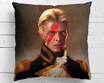David Bowie Inspired Renaissance Cushion, Pillow, Movie Cushion, Home Decor