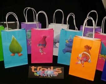 Trolls Party Bags 12pcs