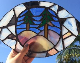 Transparent eye suncatcher