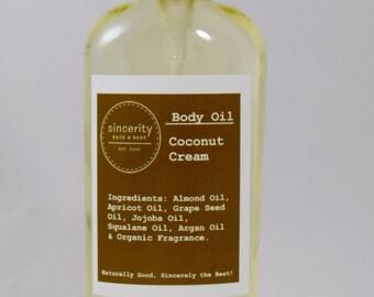 Coconut  Body Oil 6 oz