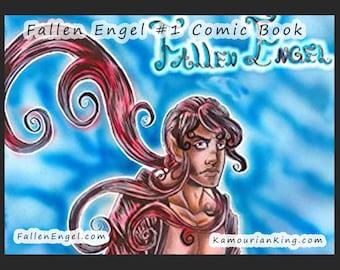 Fallen Engel #1 Dark Fantasy Comic Book Graphic Novel