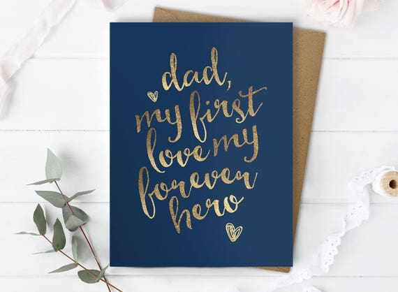Father of the bride gift daughter dad birthday card daughter like this item bookmarktalkfo Choice Image