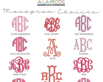 GIRLS Font Choices & Text Choices [do not purchase]