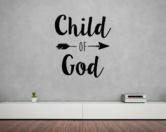 Child of God Vinyl Wall Decal