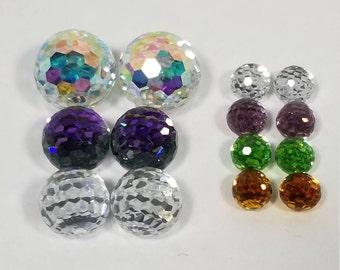 Mixed Lot Swarovski® Crystal Vintage Disco Ball Variety Sample Pack