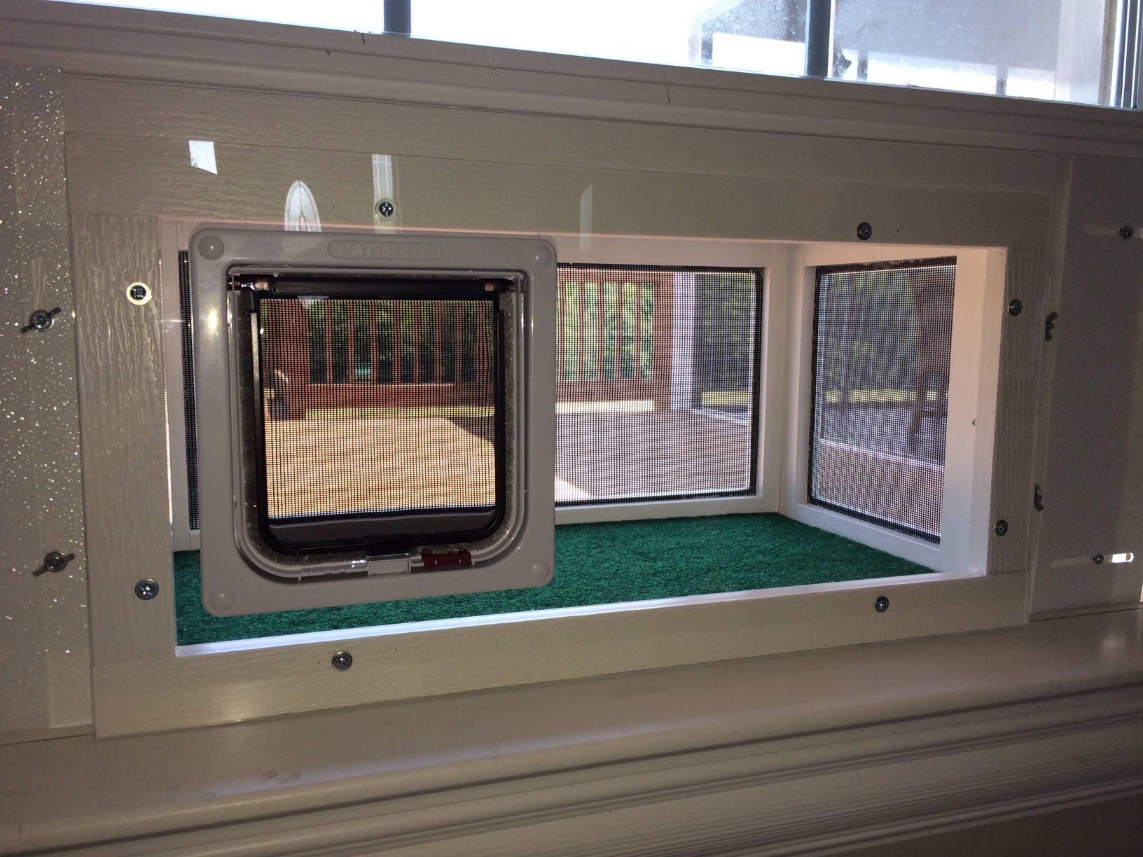 Kitty Peeper Cat Window Patio Catio Solarium Deluxe