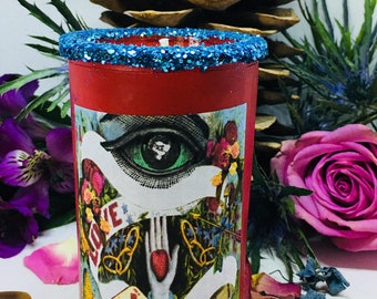 Rita's Long Lasting Love 2 Day Signature Scented Hoodoo Ritual Candle - Witchcraft, Hoodoo, Voodoo, Wicca, Pagan, Magick, New Age