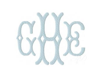"""3.5"""" inch Avery Fishtail Font Fish Tail Embroidery Fill Package Sale 4x4 5x7 Hoop Instant Download PES"""