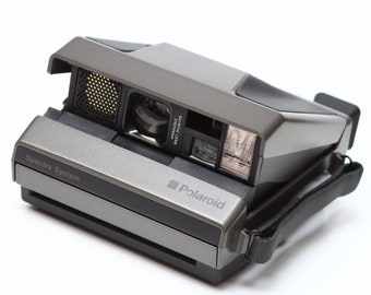 Vintage Polaroid Spectra System Instant Film Camera Made in USA Fully Operational