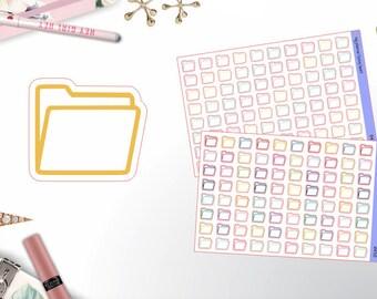 0450 - File Folder Icons
