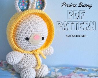 Amigurumi Pattern Prairie Bunny