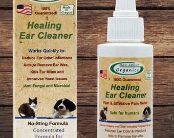 Healing Ear Cleaner 2oz for all animals