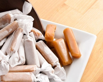 Plain Honey Caramel 1/4 lb. Box (Etsy)