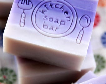 Ashuai soap-Acrylic soap stamp A049 steak time(free shipping)