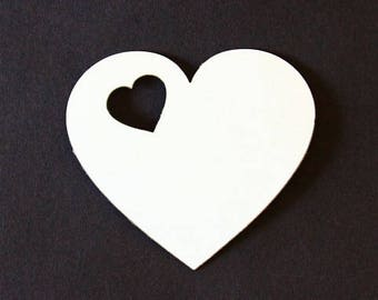 (Model 28) heart coasters