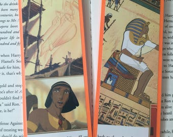 dreamworks The Prince of Egypt bookmarks featuring Moses