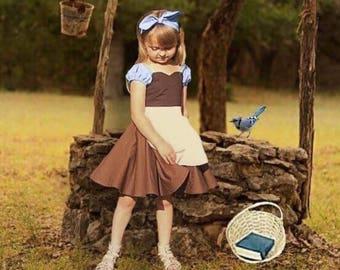 Cleaning Cinderella Dress,Cinderella,Cinderella's maid dress