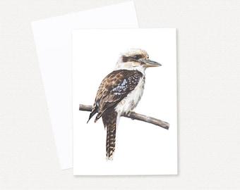 Laughing Kookaburra - Blank Greeting Card
